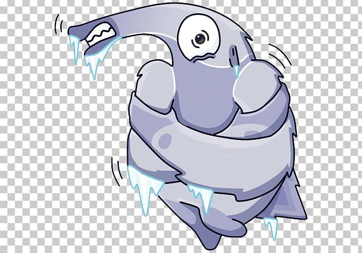 Sticker Telegram VKontakte Personal Message PNG, Clipart, Art, Artwork, Beak, Cartoon, Fictional Character Free PNG Download