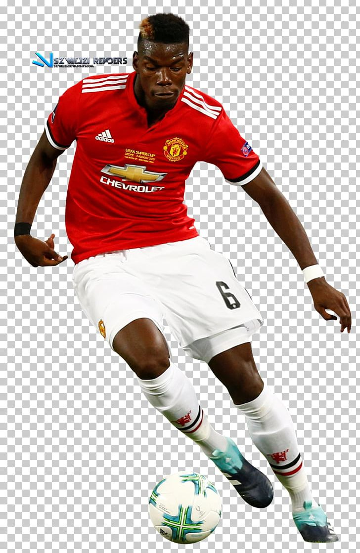 Paul Pogba Manchester United Fc Football Player Png