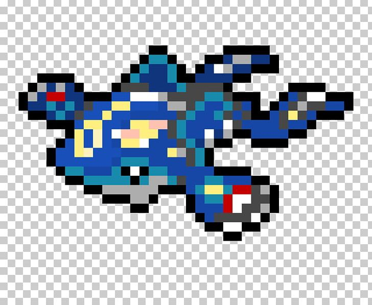 Groudon Minecraft Kyogre Pixel Art Png Clipart Art
