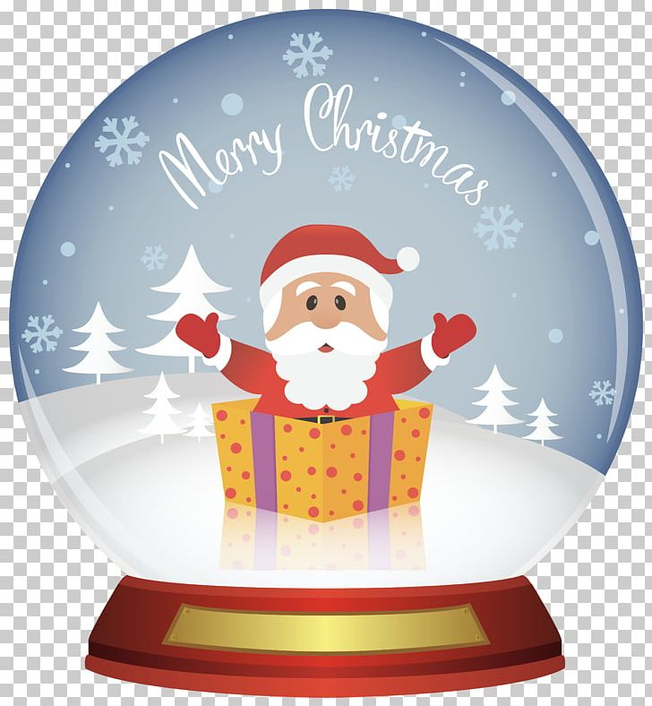 Snow Globe Christmas Santa Claus PNG, Clipart, Christmas, Christmas Clipart, Christmas Decoration, Christmas Ornament, Christmas Snowglobe Free PNG Download