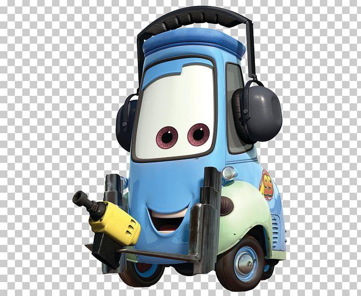 Lightning Mcqueen Guido Cars Race O Rama Mater Png Clipart