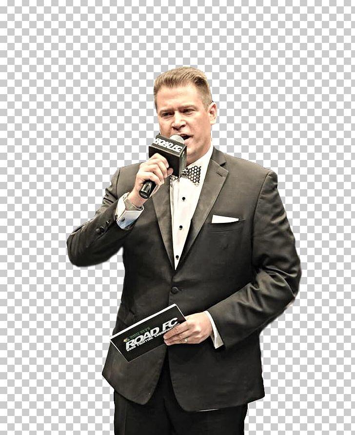 Motivational Speaker Microphone Tuxedo M  Orator