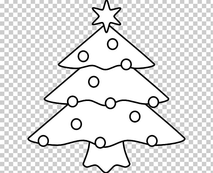 Christmas Tree Clipart Black And White.Christmas Tree White Christmas Santa Claus Png Clipart