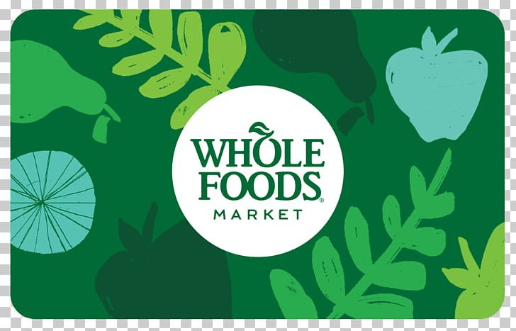 Gift Card Whole Foods Market Grocery Store PNG, Clipart