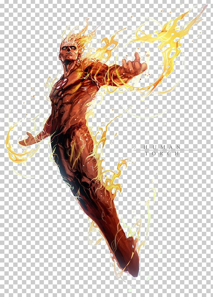 Human Torch Hulk Spider-Man Thing Marvel: Avengers Alliance PNG
