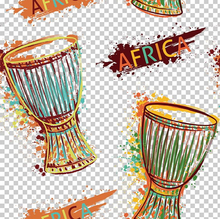 Drum Djembe Music Of Africa Musical Instrument PNG, Clipart, Art, Art Deco, Art Vector, Color, Creative Free PNG Download