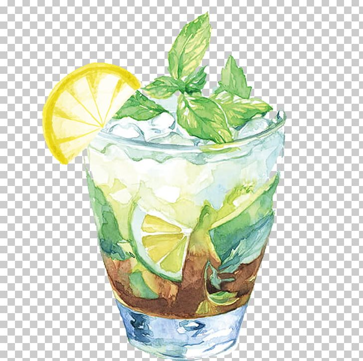 Juice Iced Tea Cocktail Illustration PNG, Clipart, Cold, Cold Drink, Cubes, Drink, Drinking Free PNG Download
