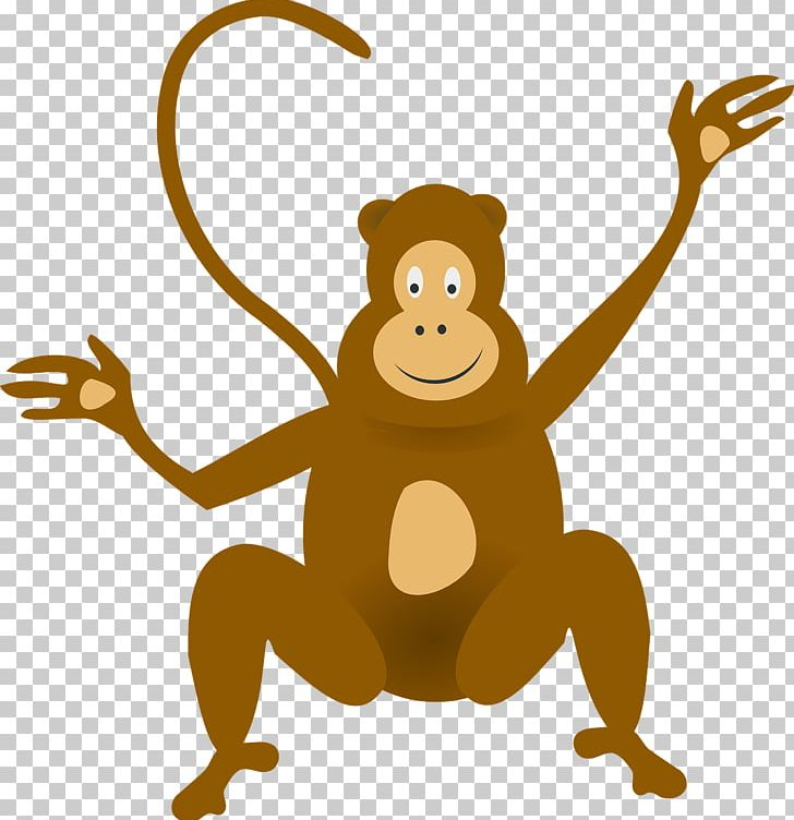 Monkey jungle. Ape png clipart animal