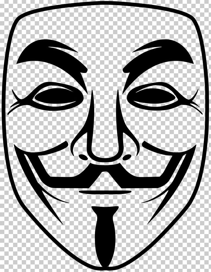 T Shirt Guy Fawkes Mask Anonymous V For Vendetta Png