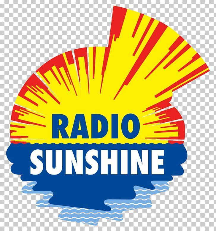 Radio Sunshine Graphics FM Broadcasting Logo PNG, Clipart, Area, Brand, Download, Encapsulated Postscript, Fm Broadcasting Free PNG Download