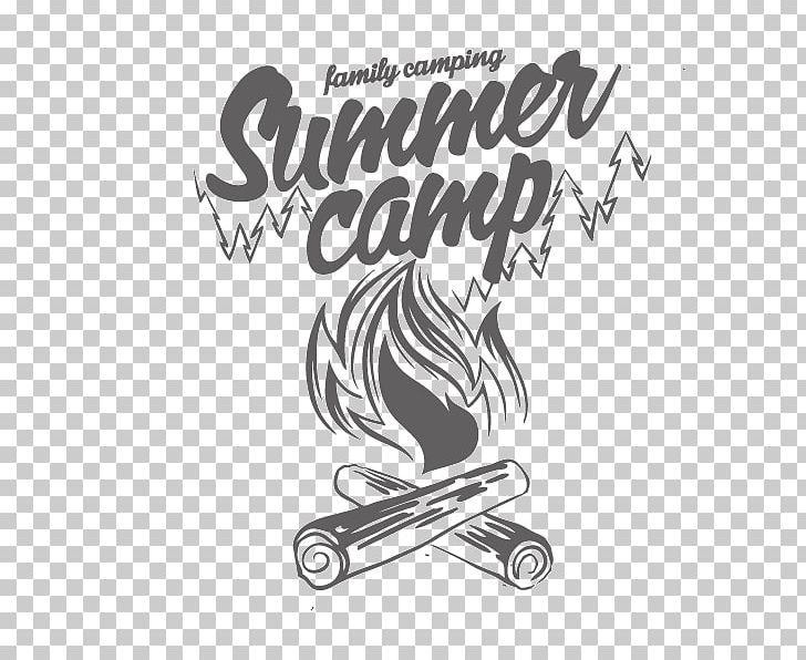 Camping Typography Shutterstock PNG, Clipart, Alphabet Letters, Black, Black And White, Design, Festive Elements Free PNG Download