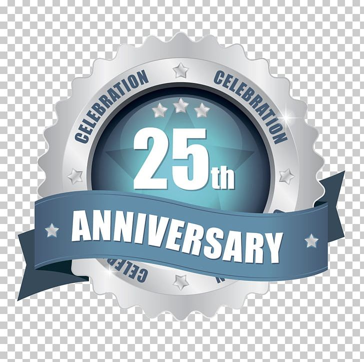 Birthday Wedding Anniversary Paper Png Clipart 25 Anniversary Anniversary Badge 25th Anniversary Anniversary Birthday Brand Free