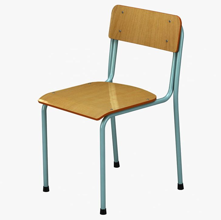 Table Chair School CGTrader Furniture PNG, Clipart, 3d
