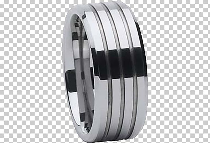 Wedding Ring Platinum Metal Titanium Carbide PNG, Clipart
