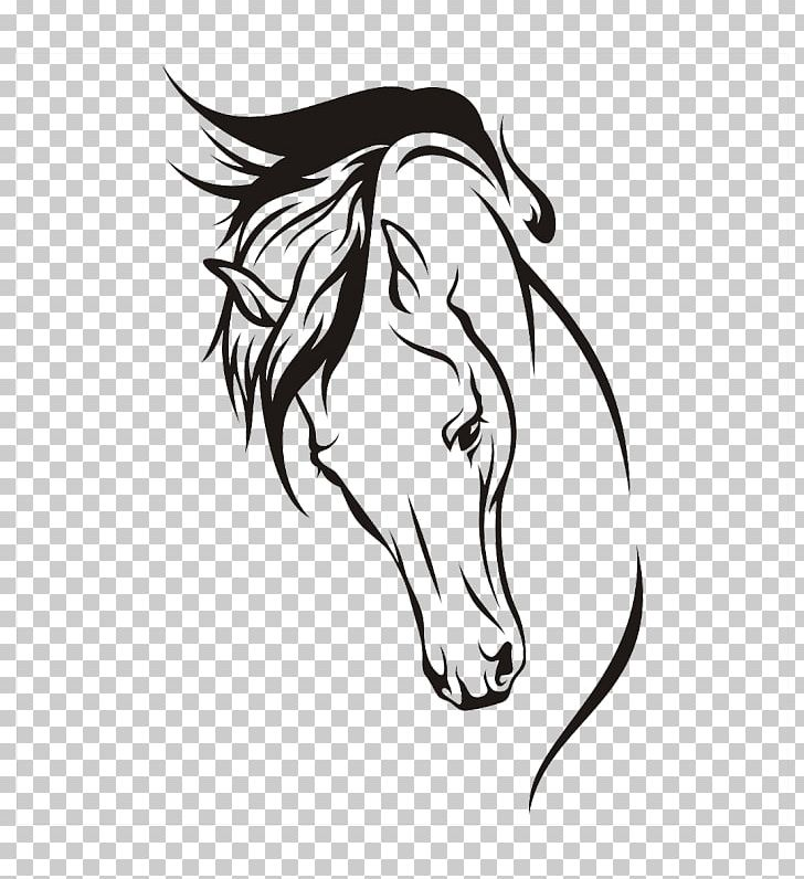 How To Draw A Horse Drawing Sketch PNG, Clipart, Animals