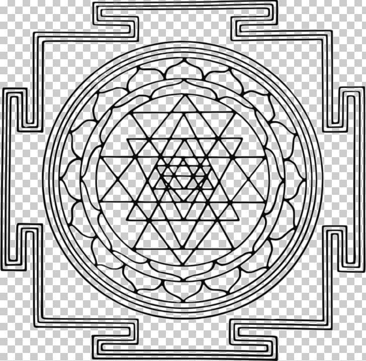 Hindu Iconography Sri Yantra Mahadeva PNG, Clipart, Area