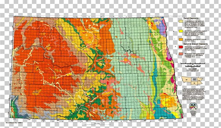 North Dakota Topographic Map South Dakota Topography PNG ...