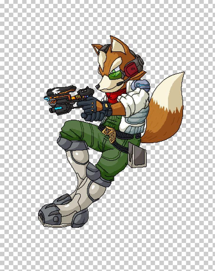 Pixel Art Fox Mccloud Fan Art Png Clipart Action Figure
