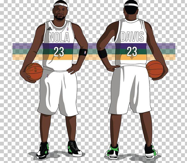 New Orleans Pelicans Jersey Uniform Basketball Png Clipart