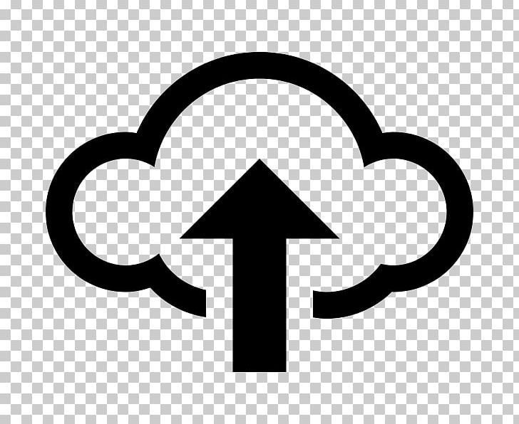 Cloud Computing Upload Computer Icons Cloud Storage PNG, Clipart, Area, Black And White, Cloud, Cloud Computing, Cloud Storage Free PNG Download