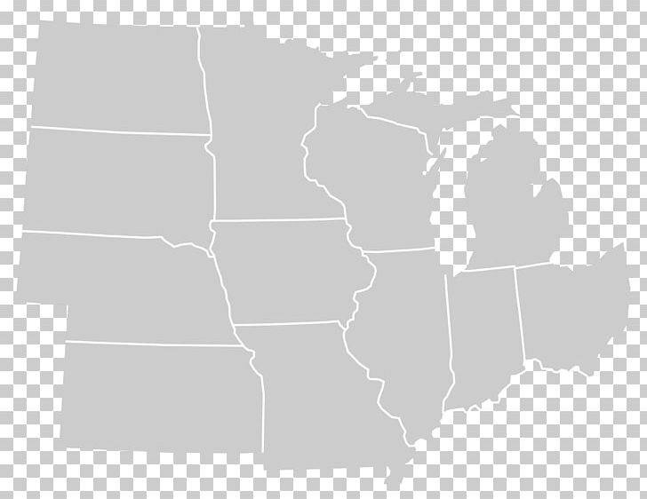 Wisconsin Western United States Blank Map U.S. State Federal ...