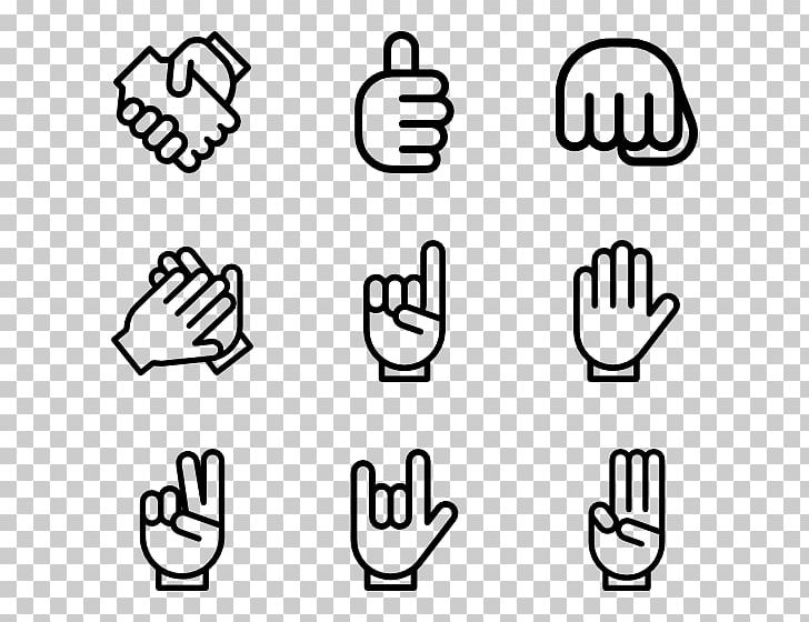 Finger Thumb Signal Computer Icons PNG, Clipart, Angle, Area, Black, Black And White, Brand Free PNG Download