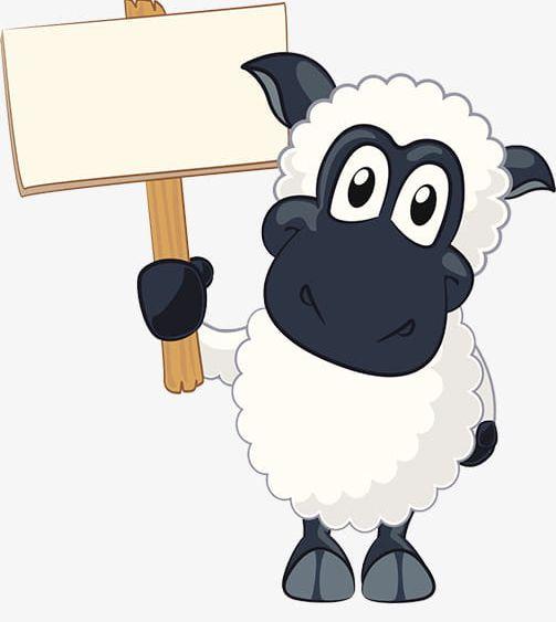 Cartoon Lamb PNG, Clipart, Animal, Black, Black Goat, Cartoon Clipart, Free Free PNG Download