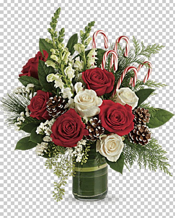 Garden Roses Flower Bouquet Candy Cane Floral Design Teleflora PNG, Clipart, Candy Cane, Floral Design, Flower Bouquet, Garden Roses, Teleflora Free PNG Download