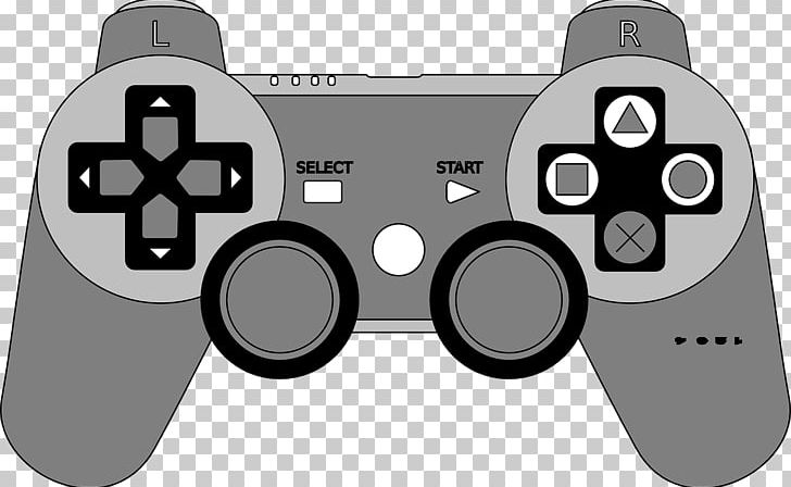 Joystick PlayStation 2 Xbox 360 Game Controllers PNG, Clipart