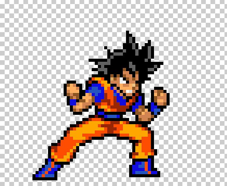 Super Smash Flash 2 Goku Sprite PNG, Clipart, 32bit, Art, Bit