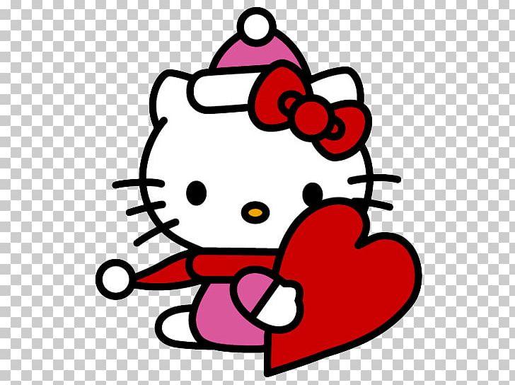 Hello Kitty Christmas.Hello Kitty Christmas Png Clipart Area Artwork Cartoon