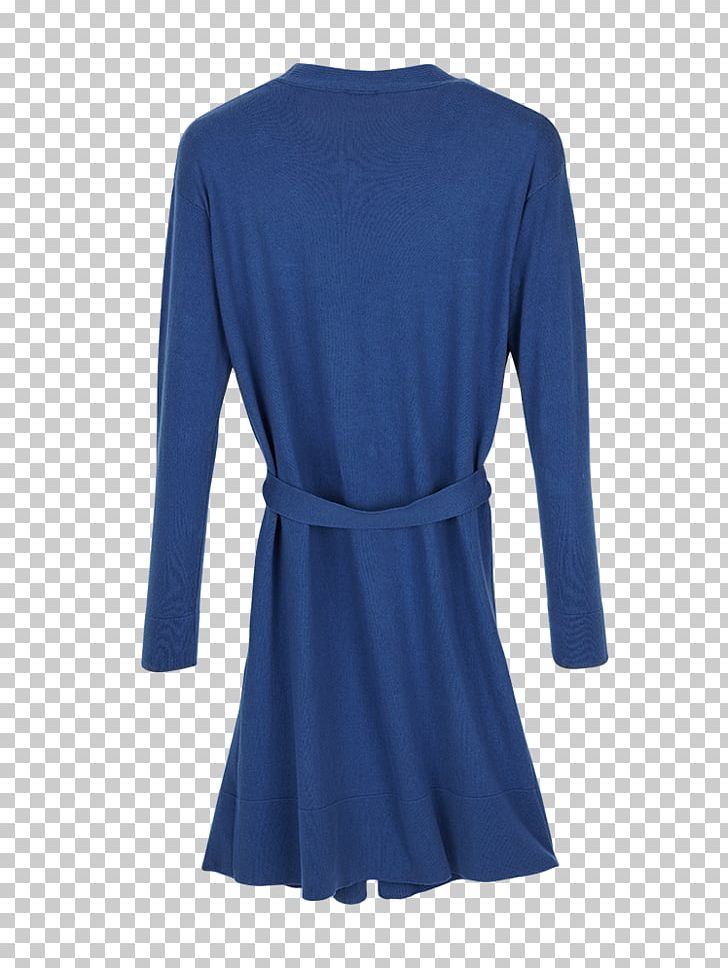 Outerwear Sleeve Shirt Dress Neck PNG, Clipart, Active Shirt, Blue, Clothing, Cobalt Blue, Day Dress Free PNG Download