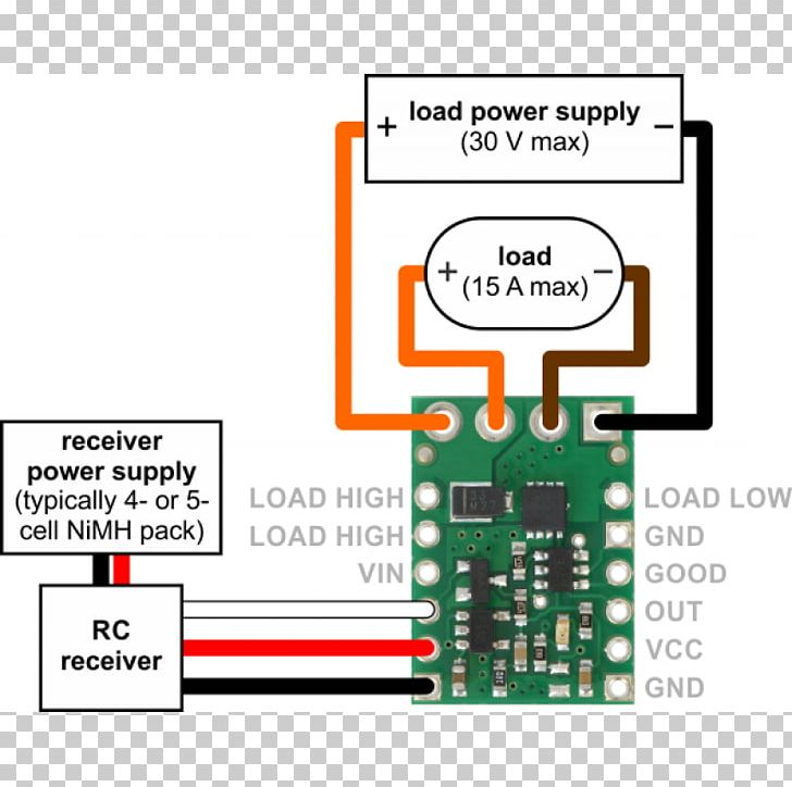 wiring diagram mosfet remote controls control system motor