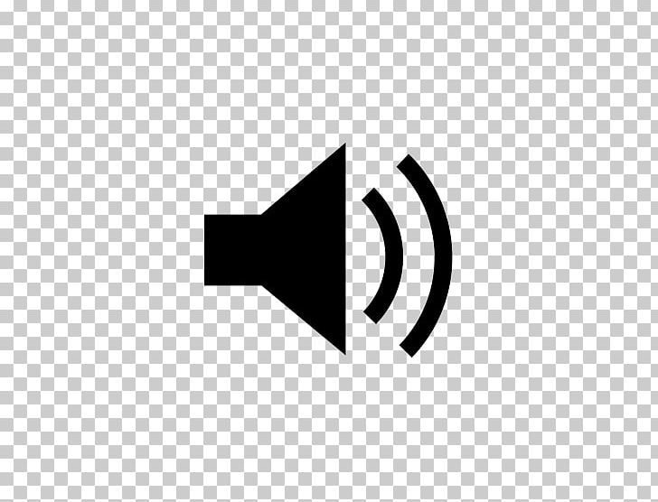 Loudspeaker Computer Icons Symbol PNG, Clipart, Angle, Audio, Black, Black And White, Brand Free PNG Download