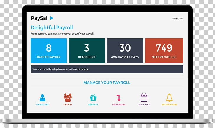 Payroll Dashboard Business Employee Human Resource