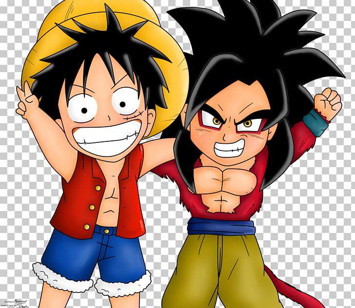 Goku Monkey D Luffy Drawing Dragon Ball Mangaka Png