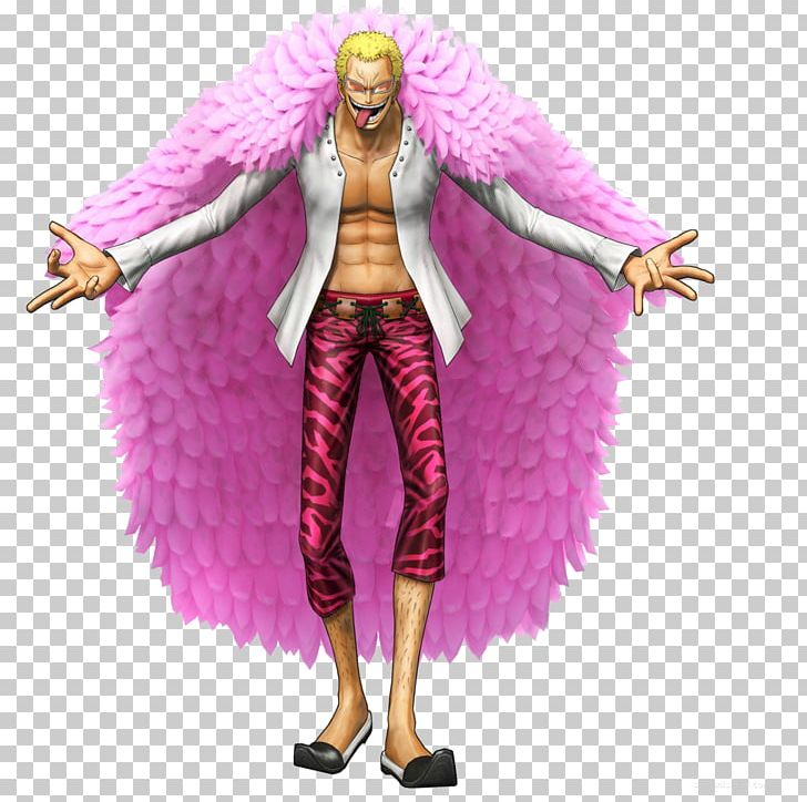 Donquixote Doflamingo One Piece: Pirate Warriors 3 Trafalgar D. Water Law Crocodile PNG, Clipart, Action Figure, Akainu, Animals, Art, Barbie Free PNG Download