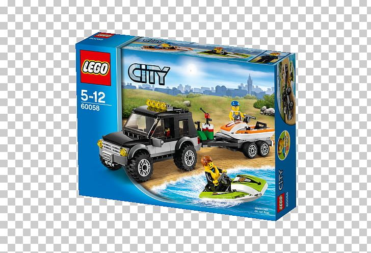 LEGO 60058 SUV With Watercraft Toy Block Model Car Motor Vehicle PNG, Clipart, Car, Lego, Lego City, Mercedesbenz Gclass, Military Light Utility Vehicle Free PNG Download