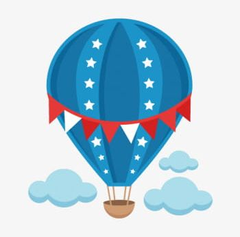 Clipart baby hot air balloon, Clipart baby hot air balloon Transparent FREE  for download on WebStockReview 2020