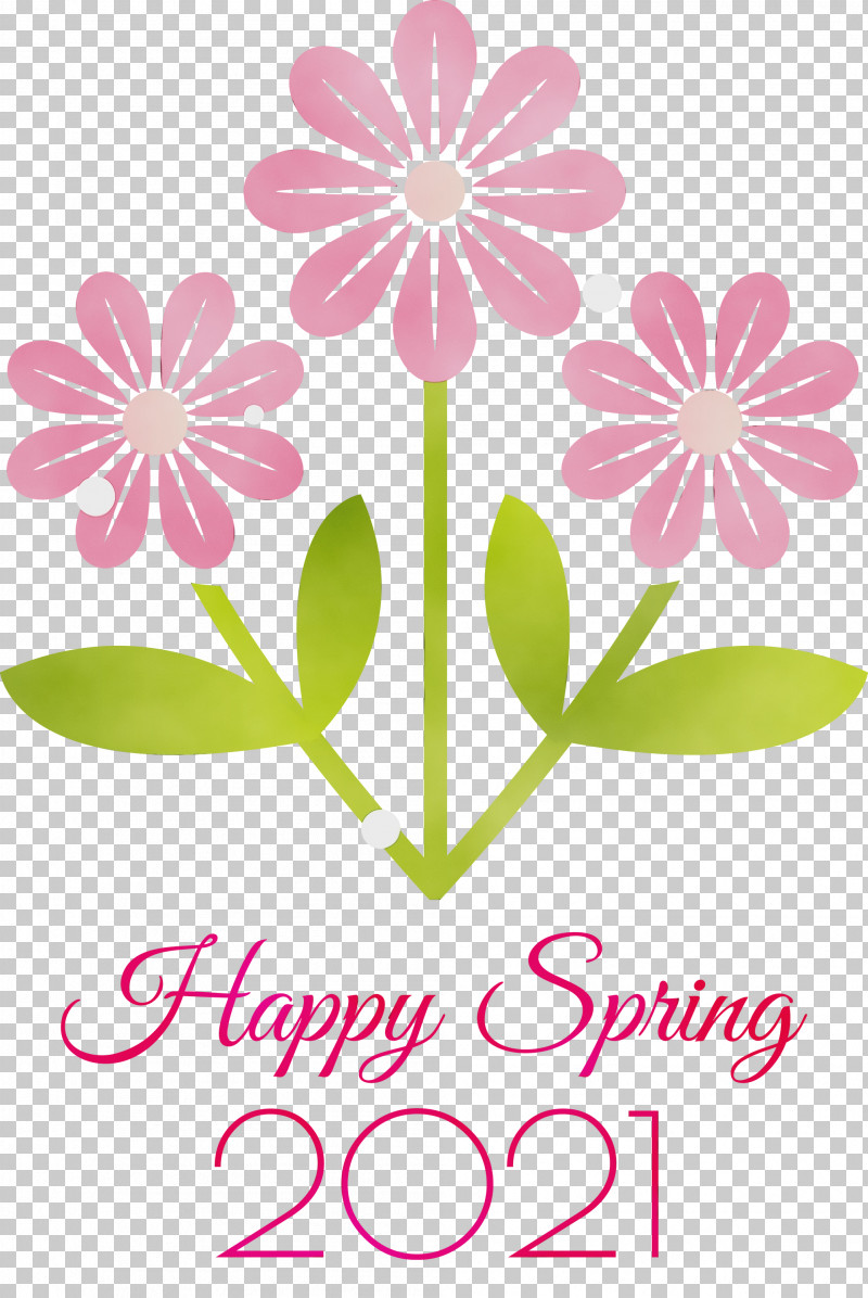 Floral Design PNG, Clipart, 2021 Happy Spring, Cut Flowers, Floral Design, Flower, Paint Free PNG Download