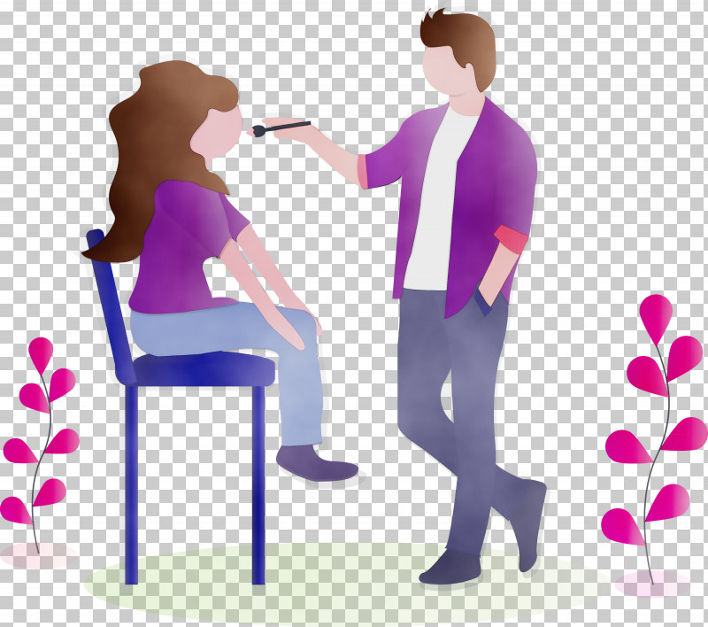 Furniture Sitting Conversation Gesture PNG, Clipart, Conversation, Furniture, Gesture, Girl, Makeup Free PNG Download