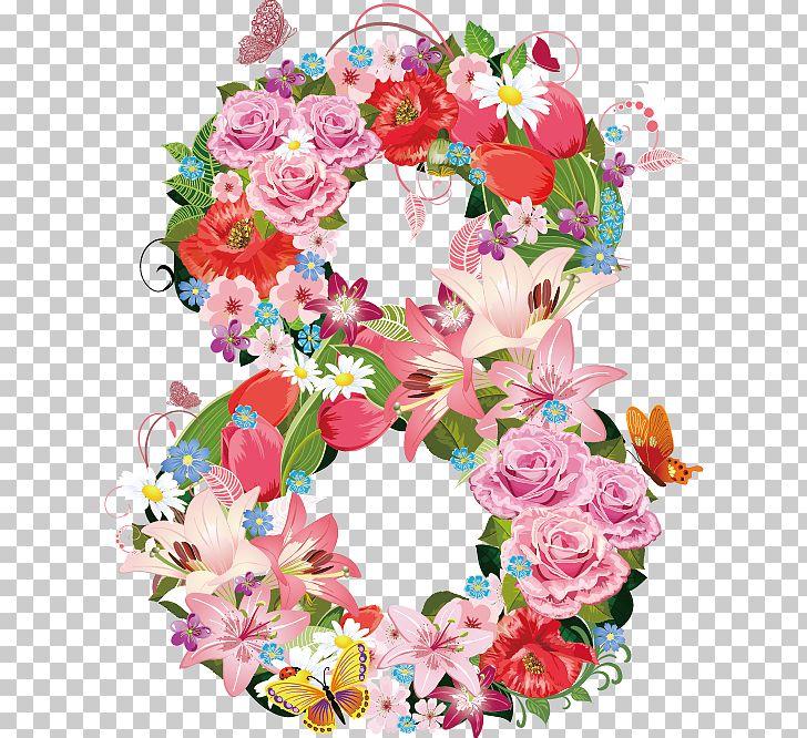 International Women's Day March 8 Woman Wish Happiness PNG, Clipart, Artificial Flower, Clip Art, Decor, Desktop Wallpaper, Digital Free PNG Download