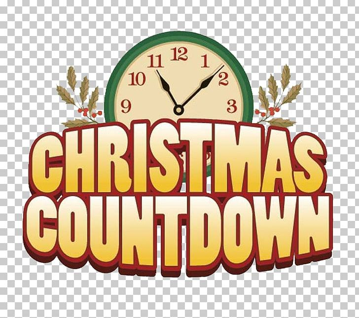 Countdown To Christmas Clock.Christmas Countdown Christmas Countdown Holiday Png Clipart