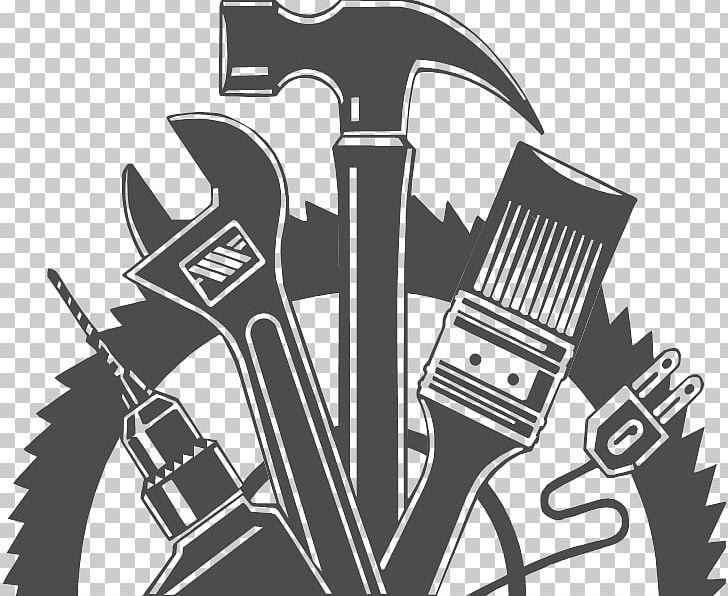 Handyman Carpenter Png Clipart Art Black And White Brand Carpenter Desktop Wallpaper Free Png Download