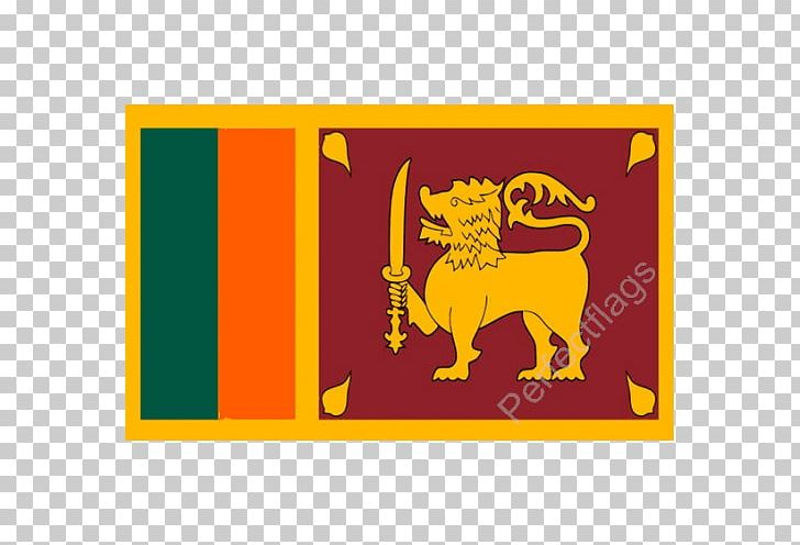 Flag Of Sri Lanka National Flag Kingdom Of Sitawaka PNG, Clipart, Area, Cartoon, Country, Flag, Flag Of Sri Lanka Free PNG Download