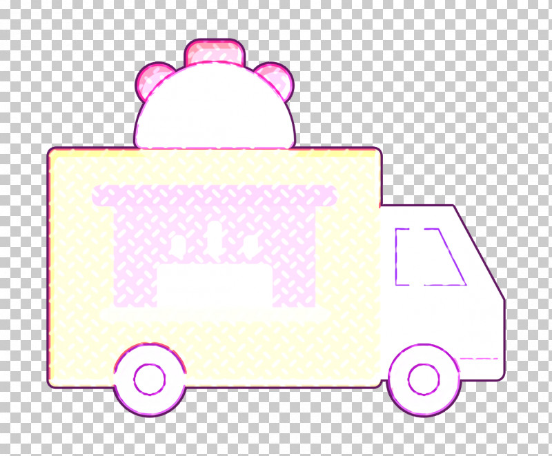 Fast Food Icon Truck Icon Food Truck Icon PNG, Clipart, Car, Fast Food Icon, Food Truck Icon, Pink, Transport Free PNG Download