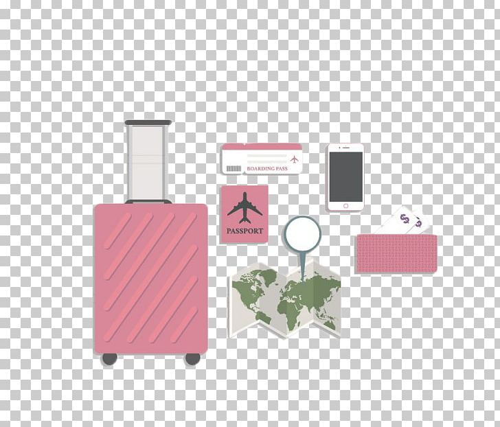 Travel Suitcase Euclidean Baggage Icon PNG, Clipart, Baggage, Bags, Brand, Caster, Clothing Free PNG Download