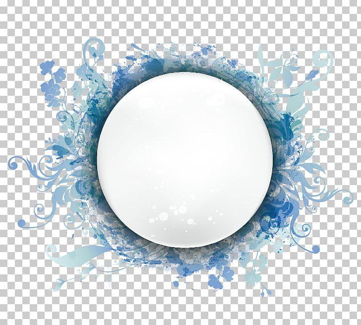 Fashion Pattern Circular Border PNG, Clipart, Blue, Border, Border Frame, Certificate Border, Circle Free PNG Download