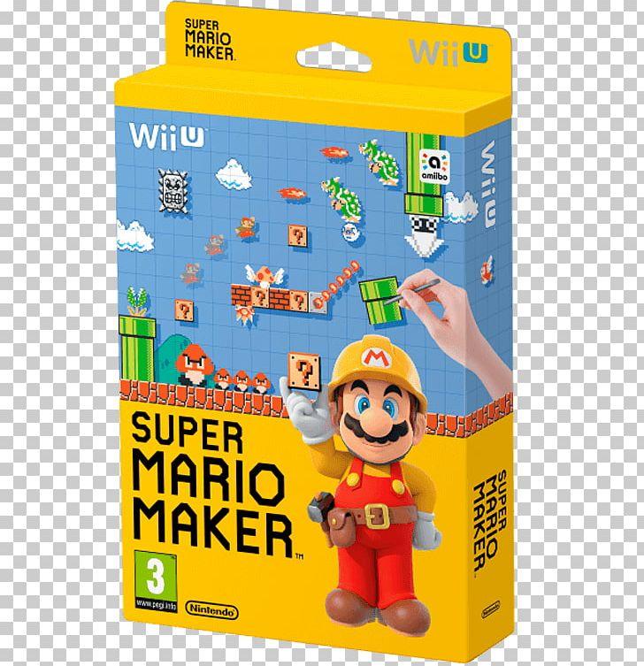 Super Mario Maker Super Mario Bros  New Super Mario Bros Wii U PNG
