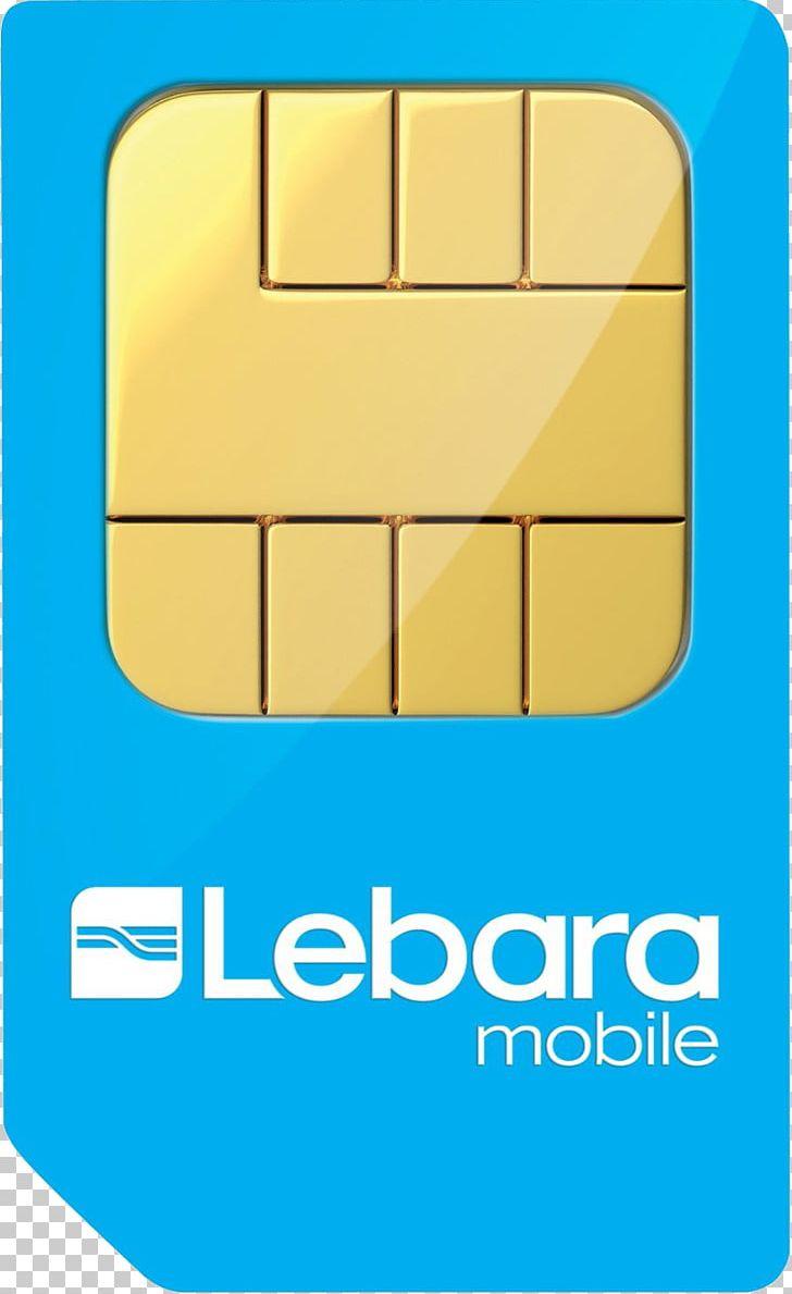 Subscriber Identity Module Prepay Mobile Phone Lebara 4G